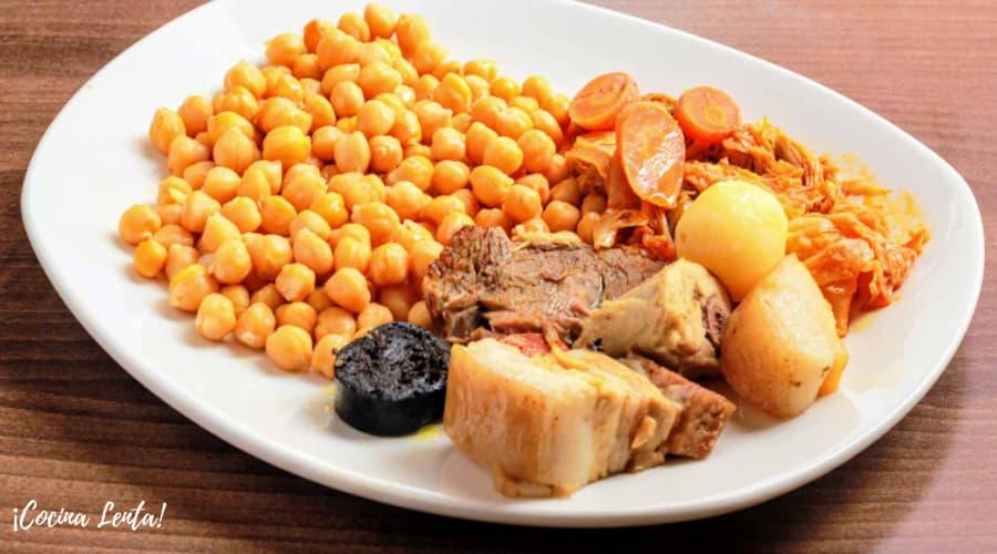 Cocido Madrileño en crock-pot