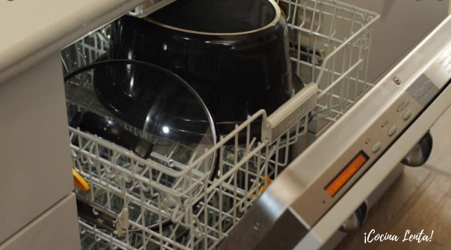 Lavar una olla lenta en lavavajillas